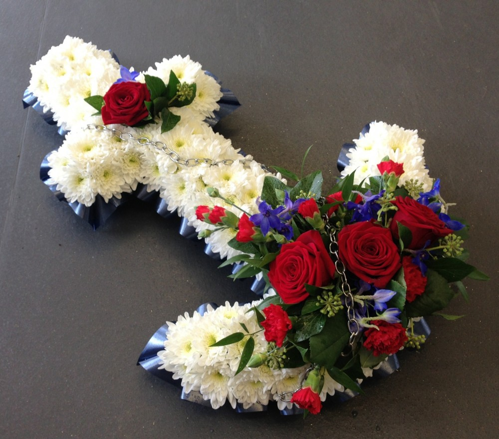 Funeral flowers great yarmouth funeral flowers delivery by floral anchor tribute izmirmasajfo