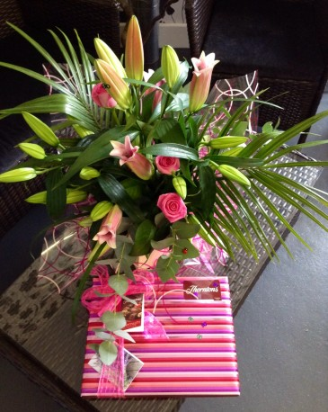 Sweet Dreams Bouquet & Chocs