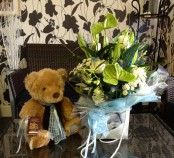 New Mum Bouquet & Ted
